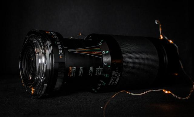 Valokuvaajan kamera.